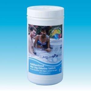AquaSPArkle Spa Multifunctional 20g Chlorine Tablets