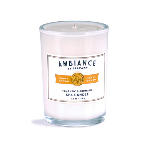 Spazazz Ambiance Spa Candle Jar