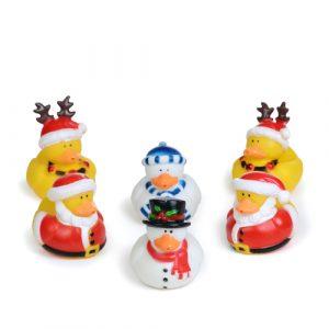 Christmas Ducks - Pack of 24