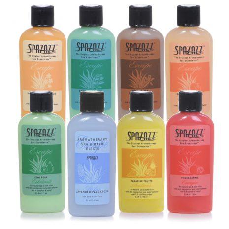Spazazz 'Escape' Range Spa and Bath Elixirs 2.5oz