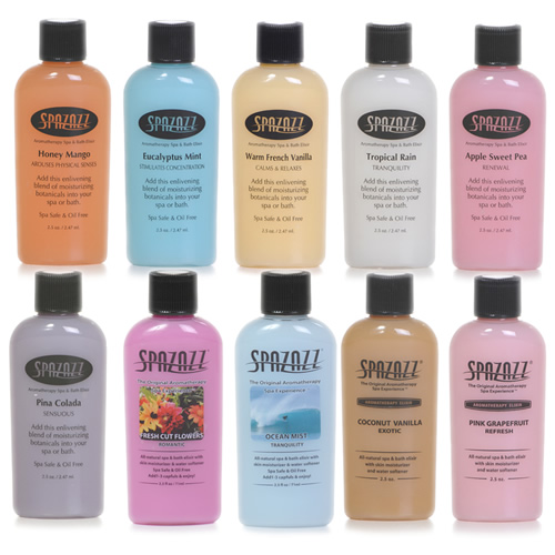 Spazazz 'Original' Range Spa and Bath Elixirs 2.5oz