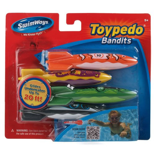 Toypedo Bandits Pack Of 4 Hot Tub Essentials