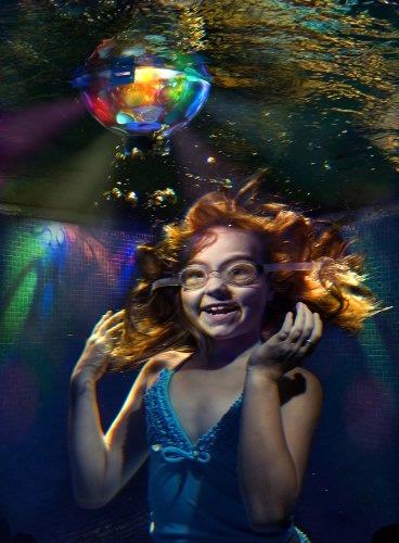 Underwater Light Starship