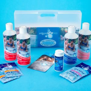 AquaSPArkle Complete Hot Tub and Spa Starter Kit - Bromine