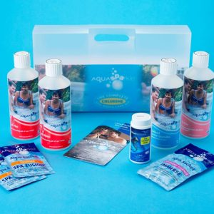 Complete Hot Tub and Spa Starter Kit - Chlorine
