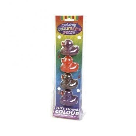 Colour changing ducks pack of 4