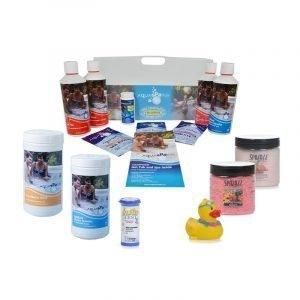 Silver Hot Tub & Spa Chlorine Starter kit