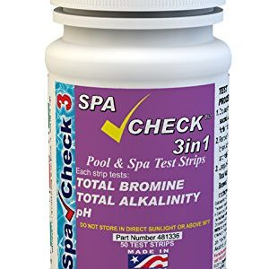poolcheck 3in1 Bromine test strips